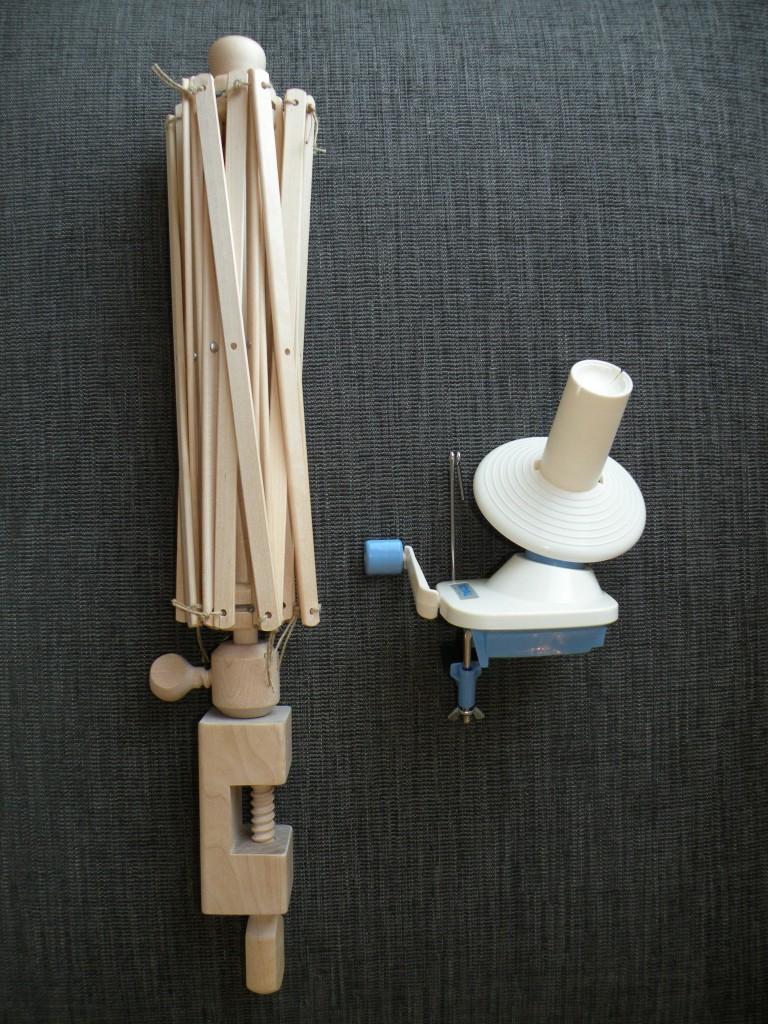 Garnvinde og krydsnøgleapparat