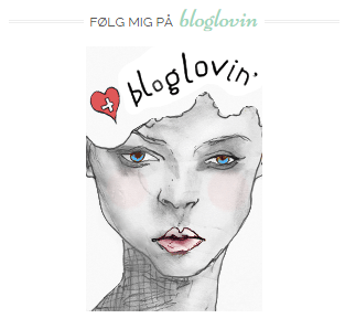 Følg bloggen via bloglovin - Instagram og Bloglovin
