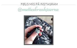Følg bloggen via Instagram - Instagram og Bloglovin