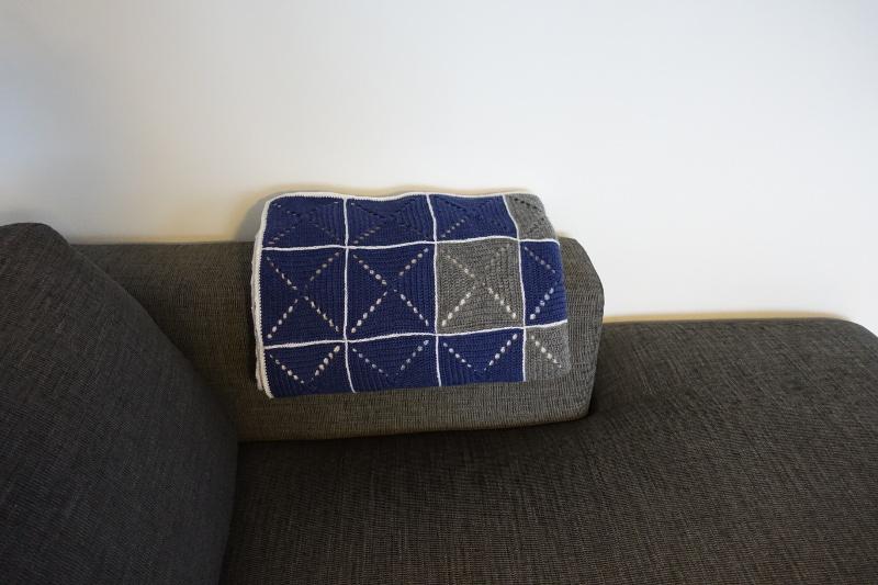 Evighedstæppet 4 - Hæklet tæppe